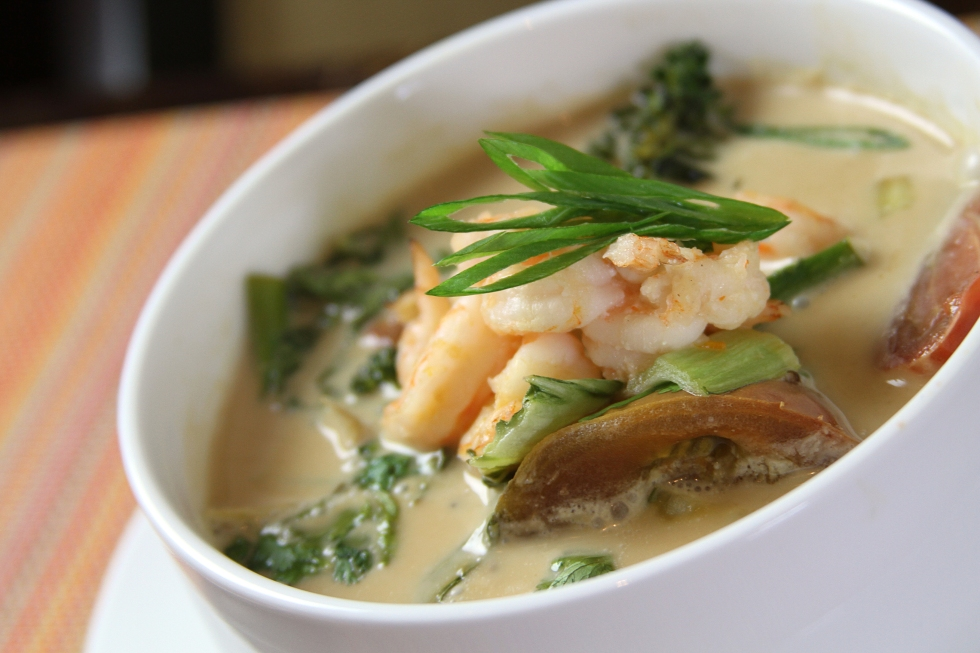 photo of a Thai Lemongrass Soup
