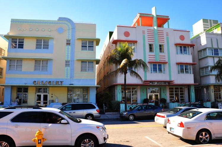 Part of Miami Beach walking tour