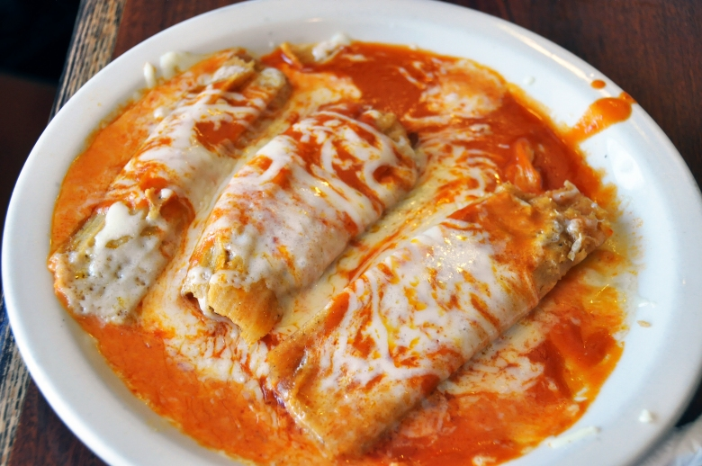 Even more tamales, this time at Tacos at El Toro Taco Restaurant