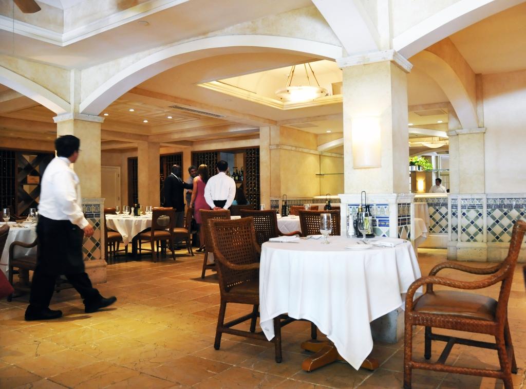 inside Fontana Restaurant