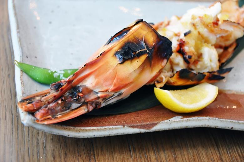 kuruma Eebi no tempura tiger prawns