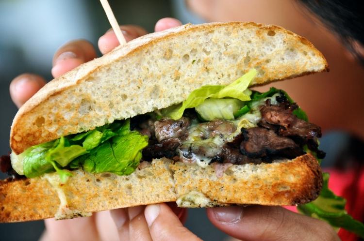 Wasabi Roast Beef Sandwich