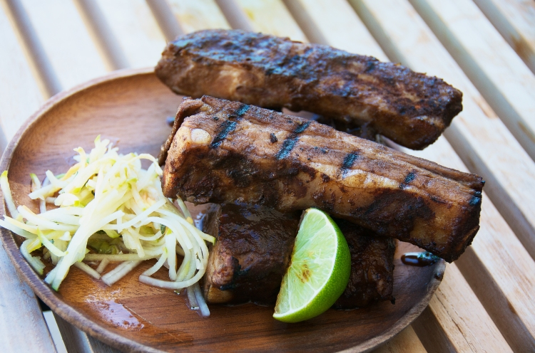 The Sticky Guanabana Glazed Ribs