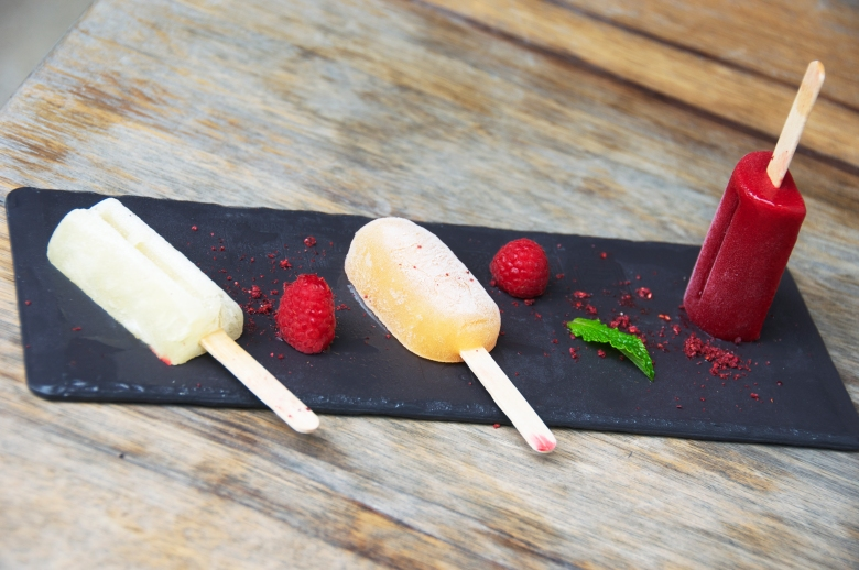 Trio of Spiked Popsicles