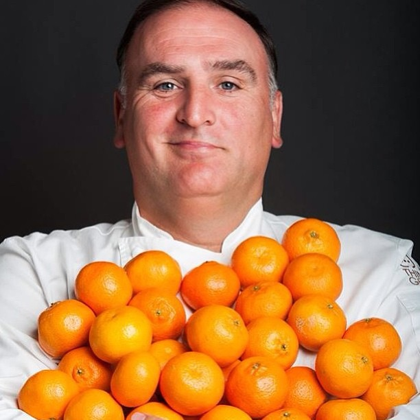 Chef José Andrés - photo by ThinkFoodGroup
