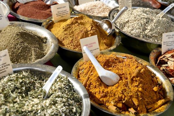 Spices galore
