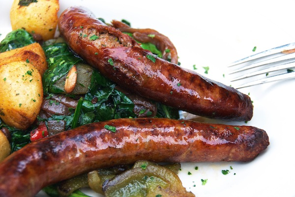 Roasted Italian Sausage and Peppers