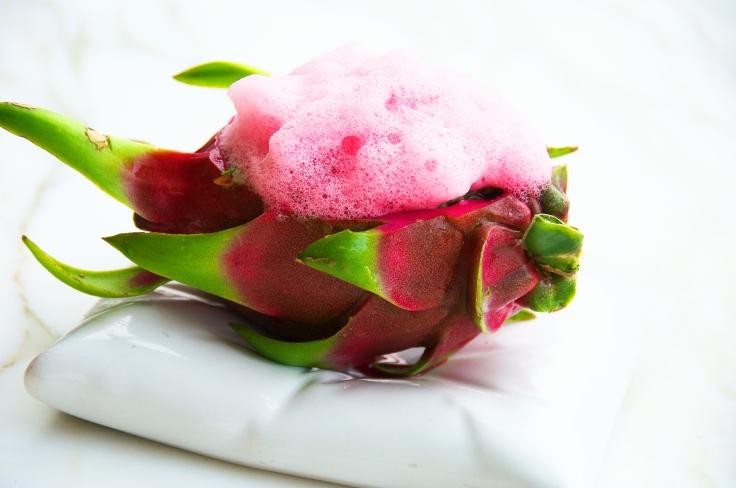 Dragon Fruit Ceviche