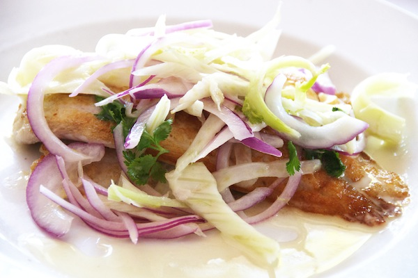 Pan Fried Red Snapper