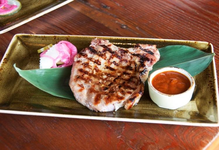 Grilled Vietnamese Skinny Pork Chop