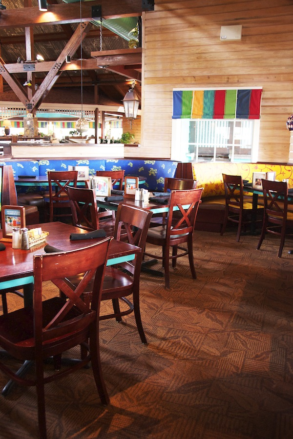 Inside Bahama Breeze