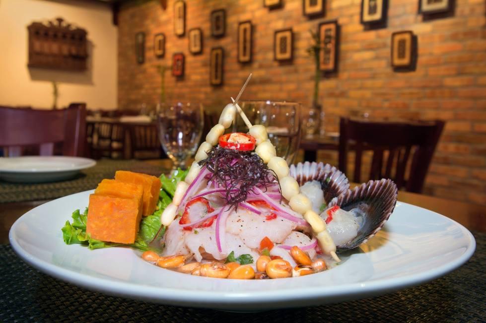 Ceviche - Photo Credit: Aromas Del Peru