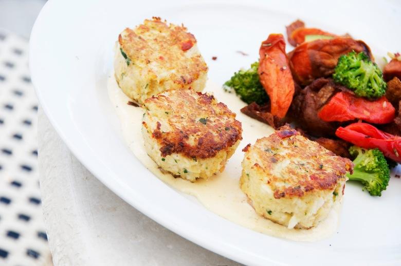 Crab & Shrimp Cakes