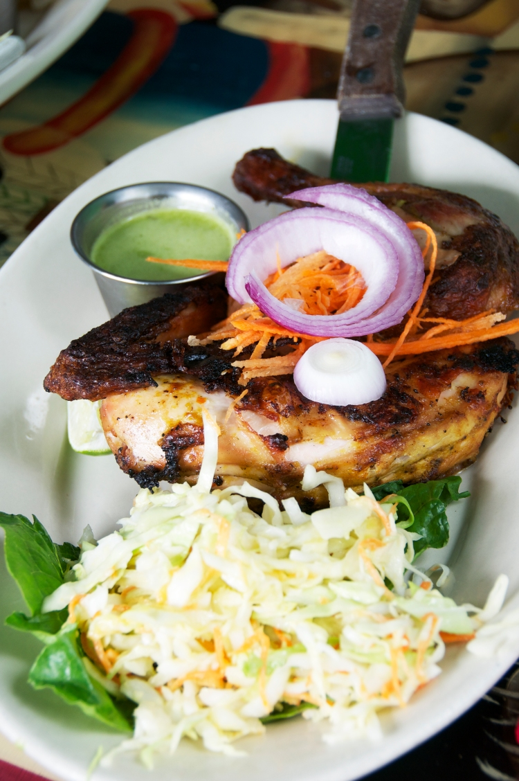 Grilled Chicken (Poul Boukanen)