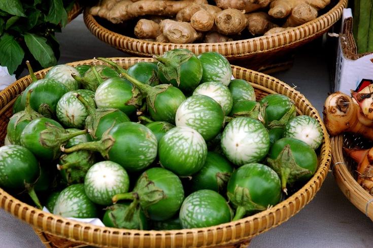 Thai Aubergines