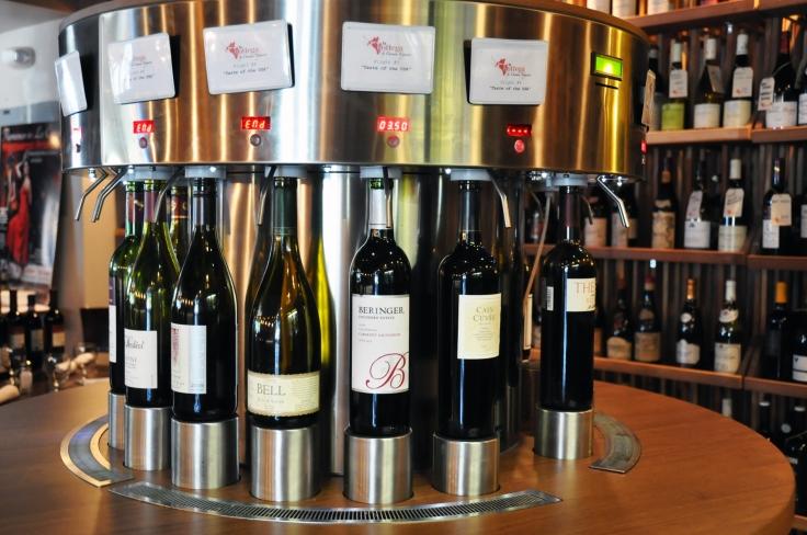 Enjoy a variety of well-chosen wines