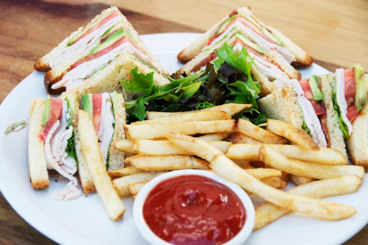 dream club sandwich
