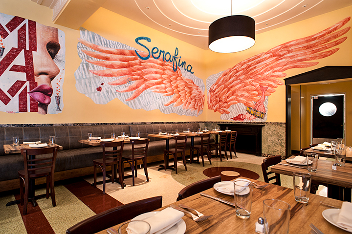 serafina mural