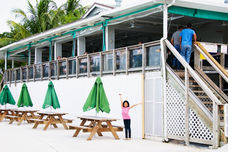 boater's grill outside