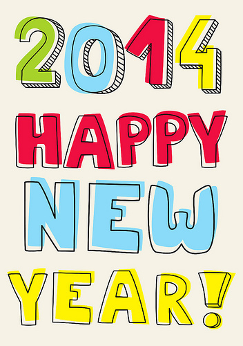 Happy New Year by Inga Linder