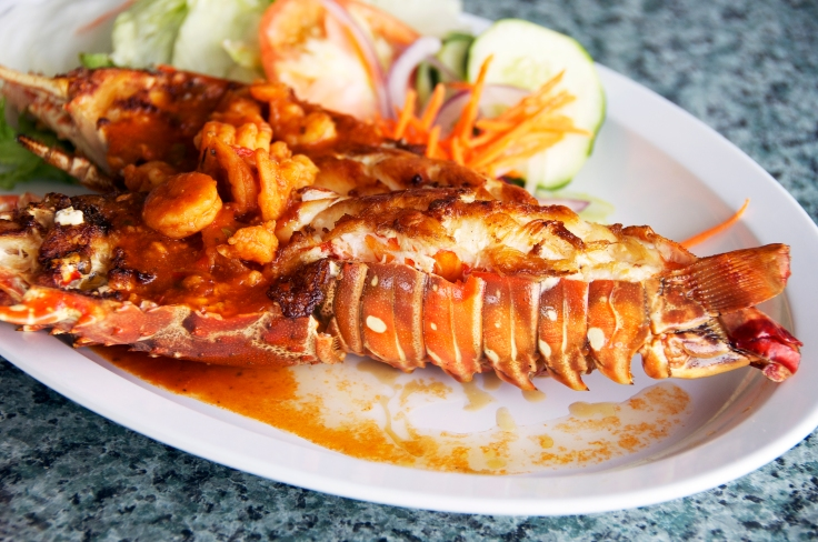 lobster with shrimp creole