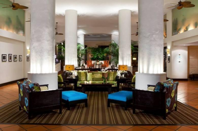 the palms lobby