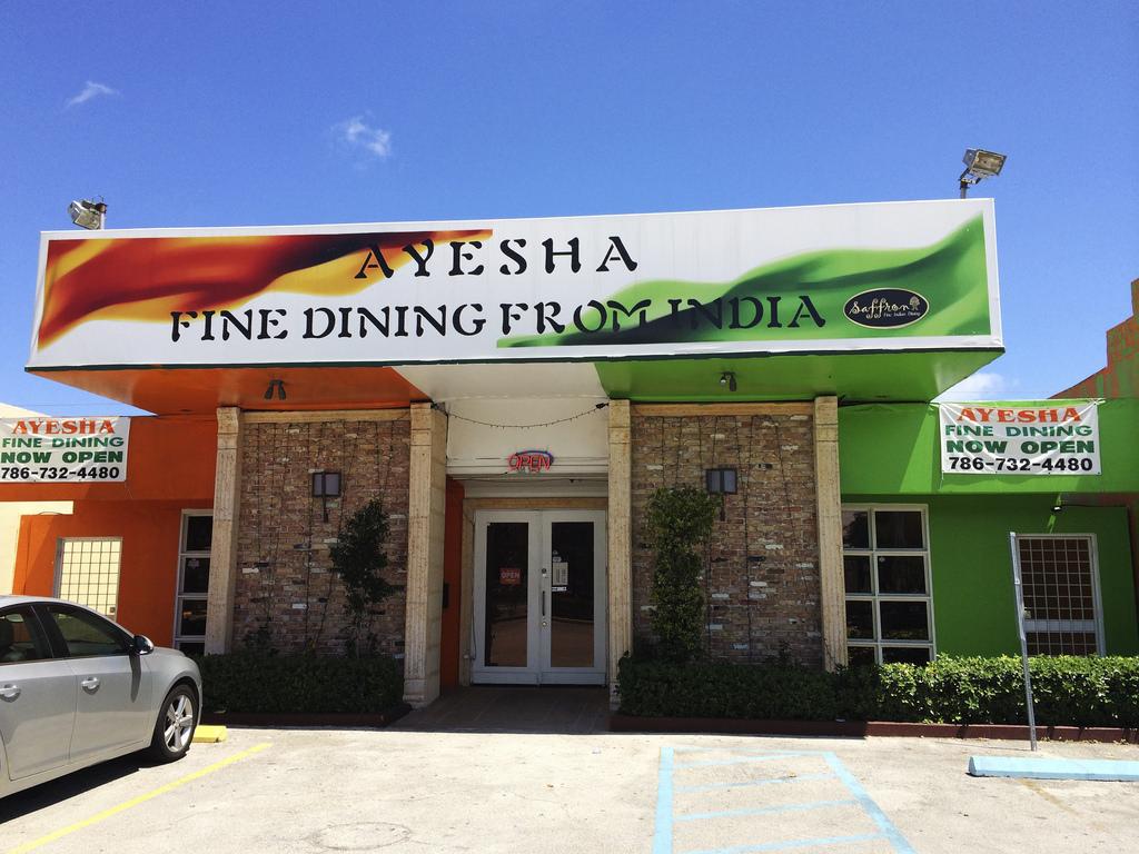Ayesha Indian Restaurant Miami