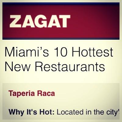 Zagat comment