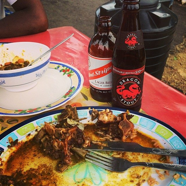 Oxtail & Beer - photo by Anthony Bourdain