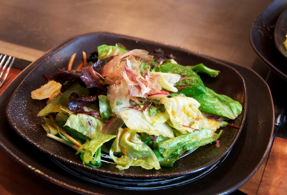 spinning salad