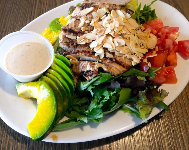 Jerked Chicken Breast Salad