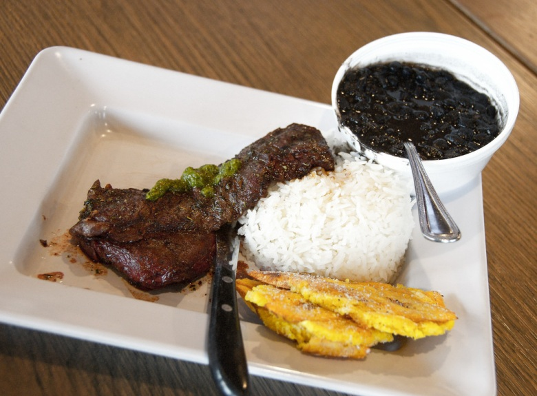 The Grilled Churrasco and Chimichurri