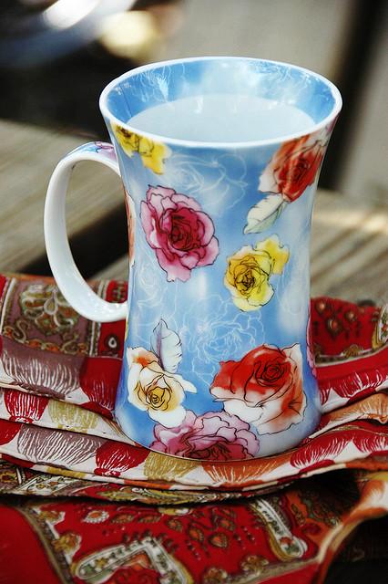 my favorite tea cup