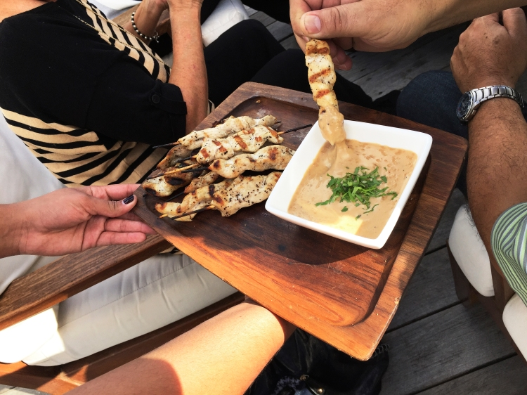 Chicken Satay, the favorite
