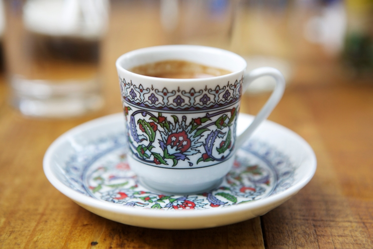 Turkish Coffee photo by Mandolin Aegean Bistro