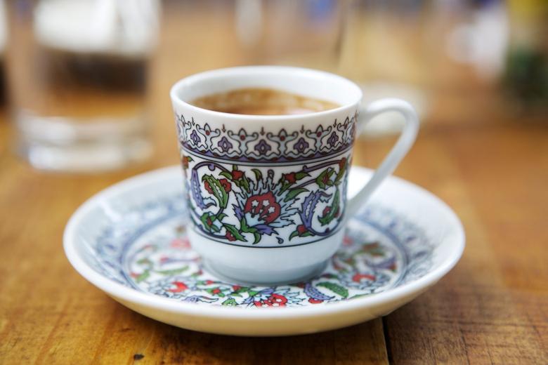 Turkish Coffee photo by Mandolin Aegean Bistro