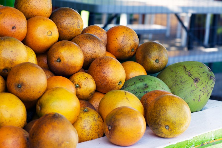 oranges & coconuts