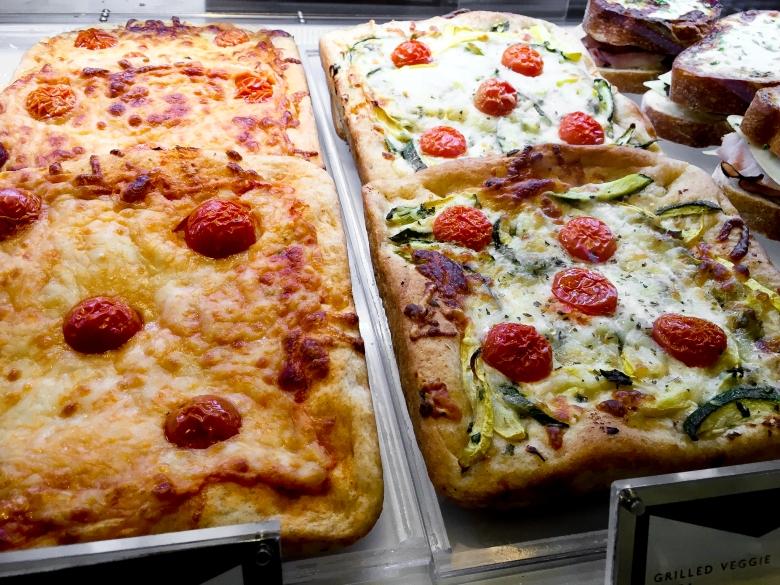 Pizza at Chez Bon Bon
