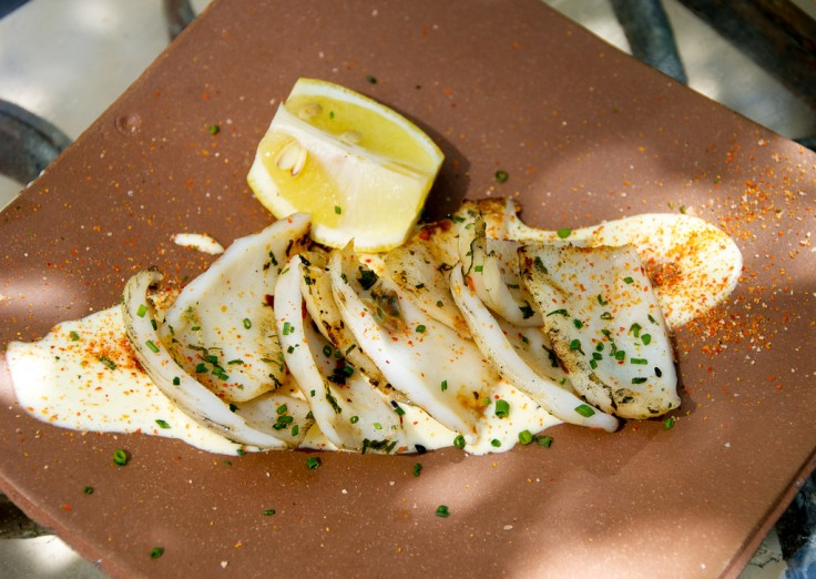 The Squid with Lemon Aïoli