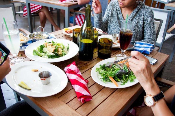 feasting at L'echon
