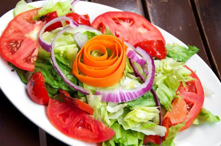 Such a pretty salad!