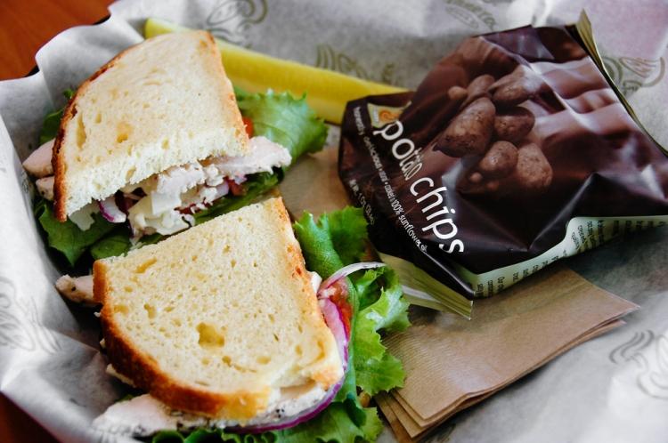 Sandwich & chips
