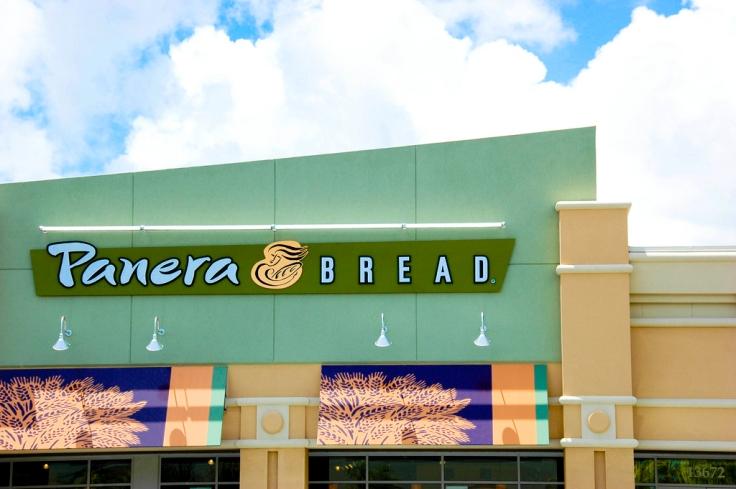 panera bread outside