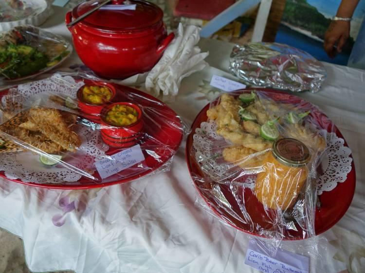 Lionfish Dishes