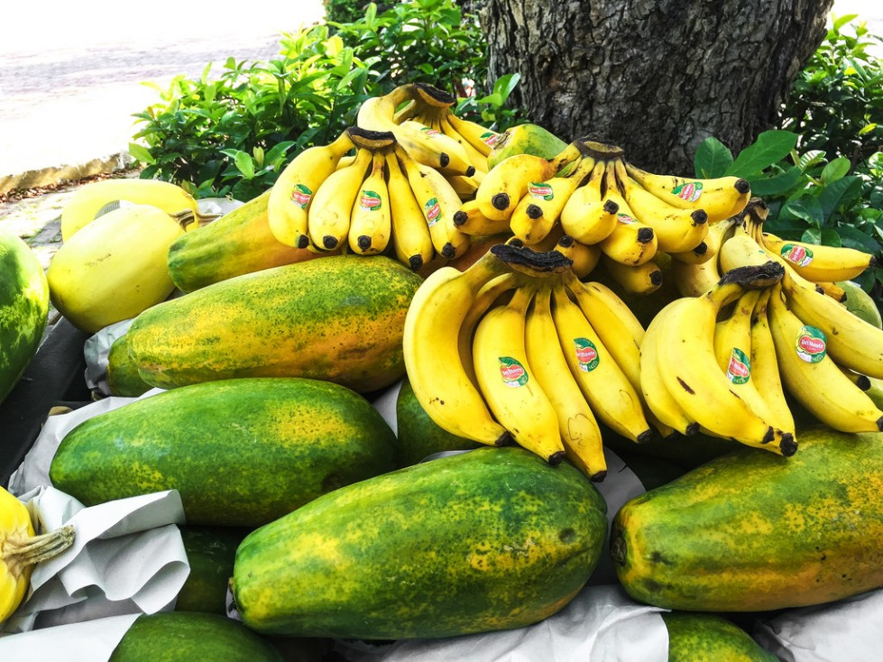 bananas & papayas