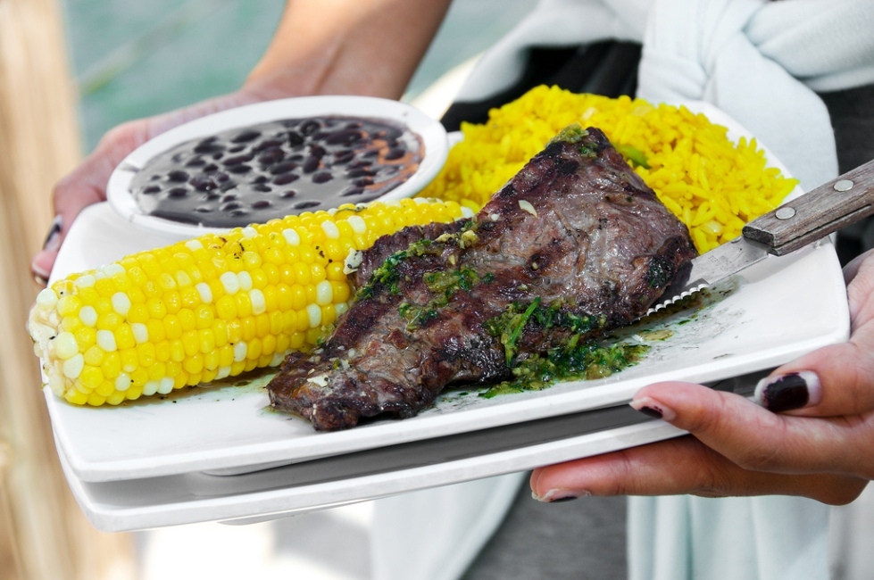 Churrasco con Chimichurri