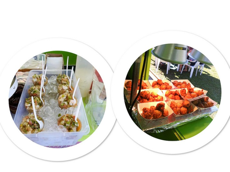 Conch Salad and Conch Fritters. Photos by Native Conch