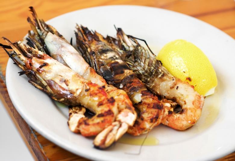 the shrimp them