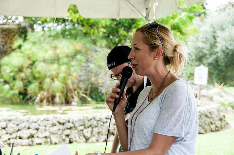 Our Host, Chef Julie Frans