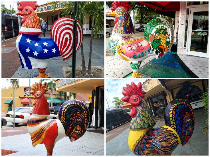 assorted cocks